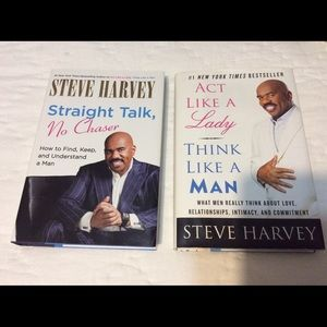 Two Steve Harvey Books